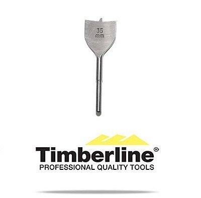 Amana Tool - Broca Plana 35 mm HSS Timberline #604-740 (Spade Bits w/ Spurs)