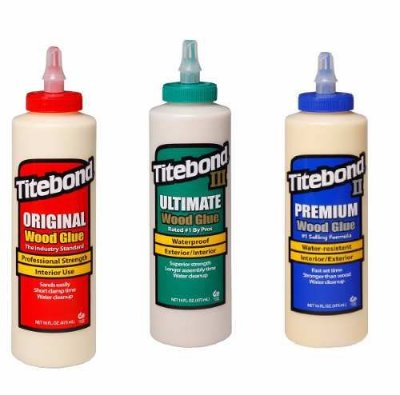 Titebond – Trio Essencial Médio - Wood Glue ® 473ml