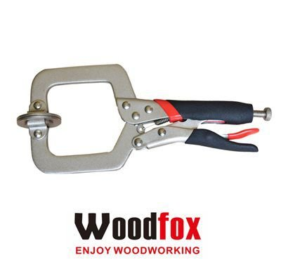 WOODFOX - Pocket Hole Clamp - Grampo Alicate de Fixação 3 Polegadas