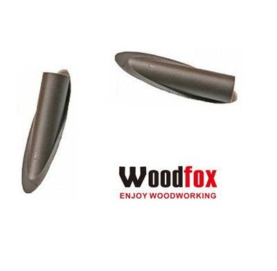 WOODFOX - Pocket Hole Plugs Brown - Tapa Furo Marrom MPLGBRW - 50 und