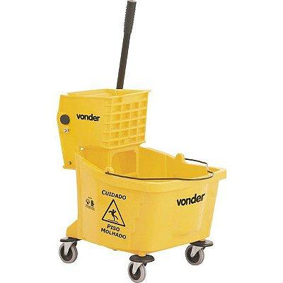 VONDER - Carro / balde plástico para limpeza, com espremedor, 32 litros, BEV 3200