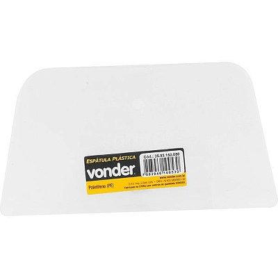 VONDER - Espátula plástica 150 mm x 80 mm