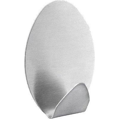 VONDER - Gancho adesivo oval, em inox, com 2 peças