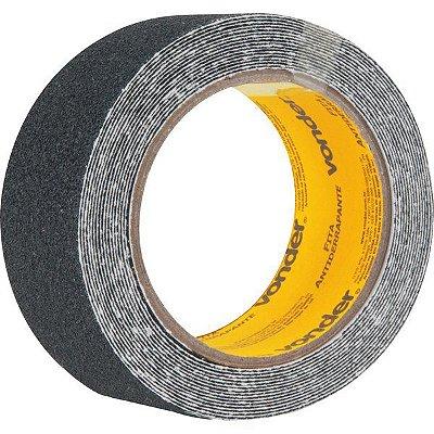VONDER - Fita antiderrapante, preta 50 mm x 5 m