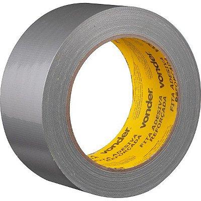 VONDER - Fita adesiva reforçada 50 mm x 25 m prata