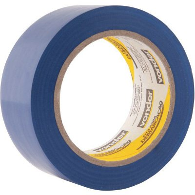 VONDER - Fita adesiva para demarcação 48 mm x 30 m azul