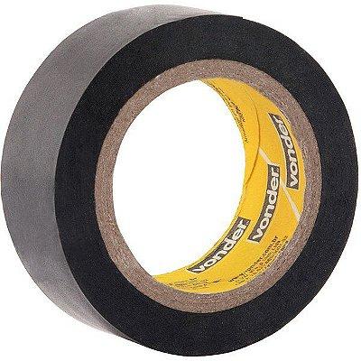 VONDER - Fita isolante, 19 mm x 5 m, preta