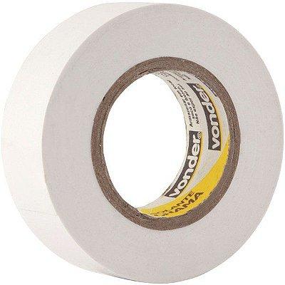 VONDER - Fita isolante, 19 mm x 10 m, branca