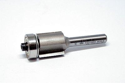 WPW - Fresa Reta c/ Rol 16mm x 16mm - H 6/55