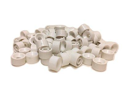 BIGFER - Suporte de Prateleira em Polímero = 100 und - (Branco) 04.02.002.005