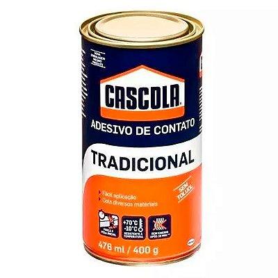 Henkel - Adesivo Cascola Tradicional sem Toluol - Cola de Contato Lata 400gr