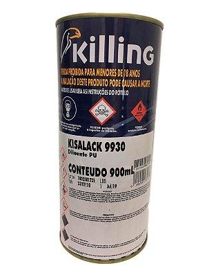 Killing - Diluente PU - 0.9 litros Kisalack 9930