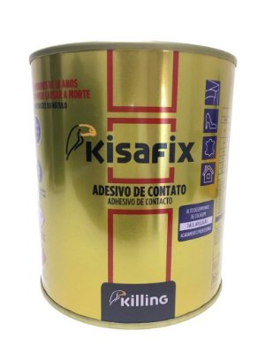 Killing - Kisafix Adesivo de Contato Premium ST (s/ Tolueno) - 0.75 kg