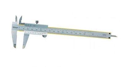 "MITUTOYO - Paquímetro Analógico Universal 200mm/8"" – 0,02mm/ .001"" – 530-118BR"