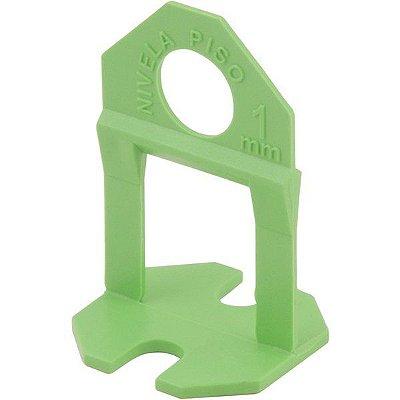 VONDER - Espaçador e nivelador para piso, 1,0 mm, verde (100 peças)