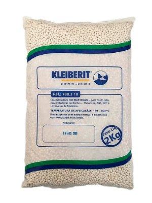 Kleiberit - Cola Granulada Hot Melt Branca 788.3.10 - 2kg - p/ Coladeiras de Bordos - ABS, Melamina, PVC e Laminados