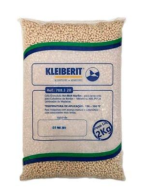 Kleiberit - Cola Granulada Hot Melt Marfim 788.3.20 - 2kg - p/ Coladeiras de Bordos - ABS, Melamina, PVC e Laminados