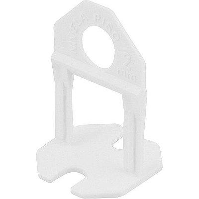 VONDER - Espaçador e nivelador para piso, 2,00 mm, Branco (100 peças)