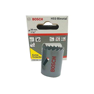 Bosch - Serra Copo HSS-Bimetal c/ Cobalto  38MM - 1.1/2 Pol.