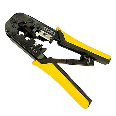 Stanley - Alicate Eletricista Multi-Uso 3 em 1 (Desencapador e Crimpador de Fios) 96-225