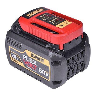 Dewalt - Bateria Lítio Flexvolt 20-60V - LI-ION 6AH - Max DCB606-B3