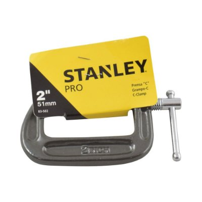"Stanley - Grampo forma ""C"" de 2"" - 51mm"