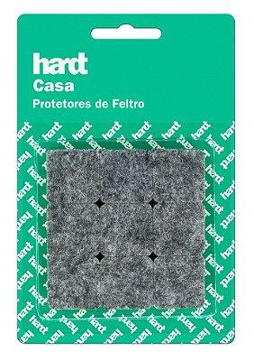 Hardt - Protetores de Feltro Quadrado 25x25 3mm 18 und R0005CZ