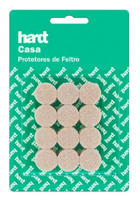 Hardt - Protetores de Feltro Redondo D19 3mm 24 und R0001BG
