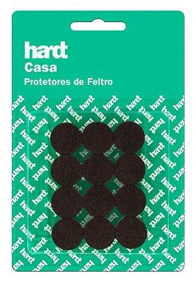 Hardt - Protetores de Feltro Redondo D19 3mm 24 und R0001MR