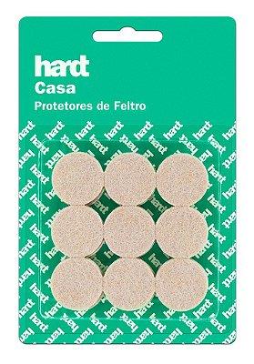 Hardt - Protetores de Feltro Redondo D25 3mm 18 und R0002BG