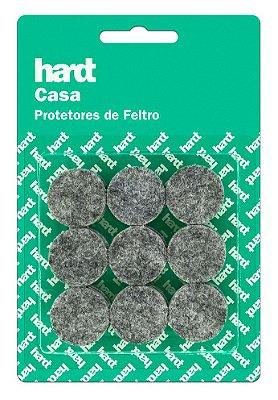 Hardt - Protetores de Feltro Redondo D25 3mm 18 und R0002CZ