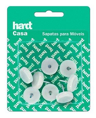 Hardt - Sapatas c/ prego p/ móveis plástico PP D20 08 und R0055BR