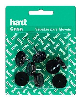 Hardt - Sapatas c/ prego p/ móveis plástico PP D20 08 und R0055PR