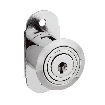 STAM - Fechadura para Móveis 314 - Externa NIQUELADO CCSD - Com Prolongador - 14060