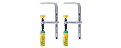 MICROJIG - MATCHFIT Dovetail Clamps (2-Pack) - Grampo de Bancada para Gabaritos Serras e Tupias - DVC-538K2