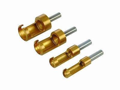 SILVERLINE - Ferramenta Intercambiável para Cortar Plug - com 4 peças