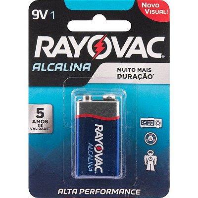 RAYOVAC - Bateria Alcalina - 9V - 20983/20984