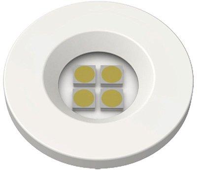 Artetílica Nuze - Luminária Pontual Circular D35 4 Super Led 3000K E321.B - 110/220V BRANCO