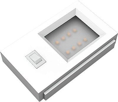 Artetílica Nuze - Luminária UNNO 220V Interruptor 3000k BRANCO - E3001.01B