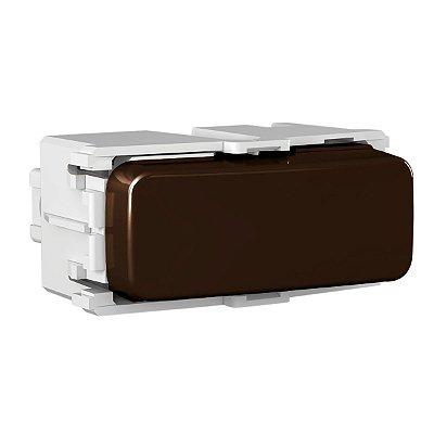 WEG - Composé - Módulo Interruptor 10 A/250 Vca - Simples - Marrom