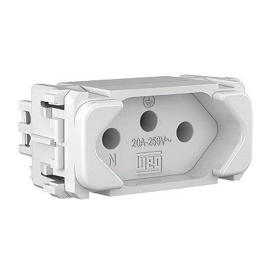 WEG - Composé - Módulo Tomada de Energia - 2P+T 20 A/250 V - Branco