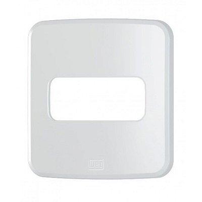 WEG - Composé - Placa de Embutir - Móveis - 1 Posição - Branco