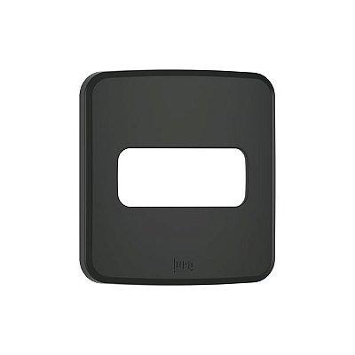 WEG - Composé - Placa de Embutir - Móveis - 1 Posição - Preto