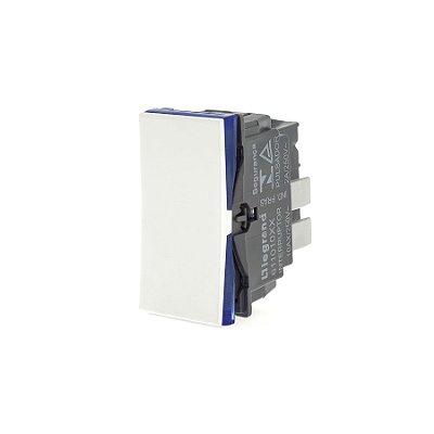 Legrand - PIAL Plus+ - Interruptor Simples 10A 250V - Branco - 611010BC