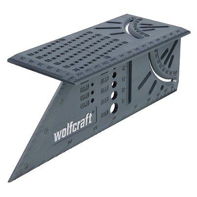 Wolfcraft - Esquadro 3D Angular - Mitre Angle 5208 000
