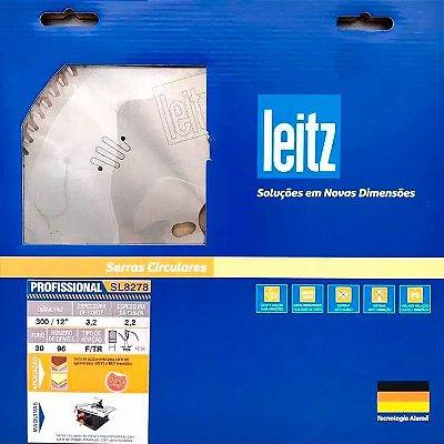 Leitz - Disco de Serra Circular - SL8278 - HW 300 x 3,2/2,2 x F30 - 96z - FZ/TR, p/ MDF