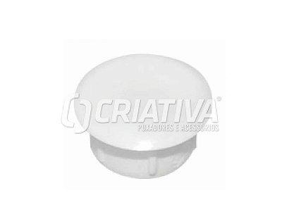 Criativa - Tapa Furo Plástico - 10mm - Branco