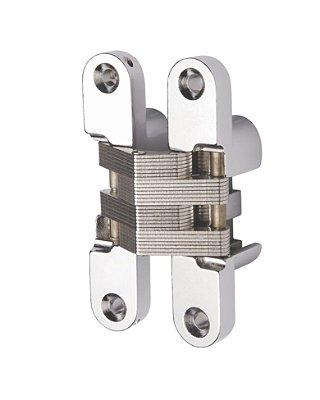Hardt - Dobradiça Invisível - 94 x 19mm - Cromado - F0052CR
