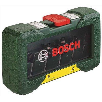 "Bosch - Jogo de Fresas H1/4"" - 6 pcs"