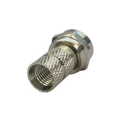InterNeed - Conector Coaxial RGC 59 c/ Rosca (ftz)